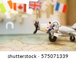 miniature people   business... | Shutterstock . vector #575071339