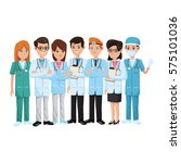 medical professionals icon | Shutterstock .eps vector #575101036