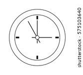 clock device icon   Shutterstock .eps vector #575103640