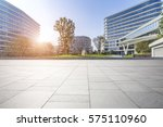 empty floor with modern... | Shutterstock . vector #575110960