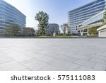 empty floor with modern... | Shutterstock . vector #575111083