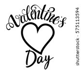 valentines day label | Shutterstock .eps vector #575113594