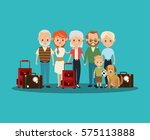 travel and tourism design | Shutterstock .eps vector #575113888