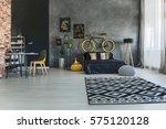 multifunctional loft interior... | Shutterstock . vector #575120128