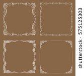 frames. decorative elements.... | Shutterstock .eps vector #575125303