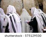 Orthodox Jews Wearing Tallit...