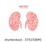 abstract vector illustration of ... | Shutterstock .eps vector #575153890