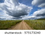road to the clouds of heaven | Shutterstock . vector #575173240