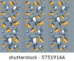 pattern of mice | Shutterstock .eps vector #57519166
