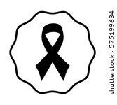 ribbon health symbol icon | Shutterstock .eps vector #575199634