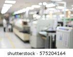 electronics production plant... | Shutterstock . vector #575204164