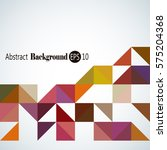 abstract background with... | Shutterstock .eps vector #575204368