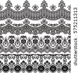 vector set with baroque... | Shutterstock .eps vector #575211313