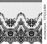 seamless lace pattern  flower... | Shutterstock .eps vector #575211484