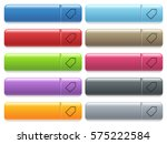 single tag engraved style icons ... | Shutterstock .eps vector #575222584