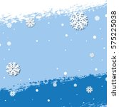 snow background   Shutterstock . vector #575225038
