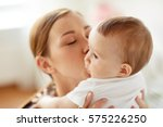 family  child and parenthood... | Shutterstock . vector #575226250
