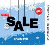 discount poster   Shutterstock . vector #575228638
