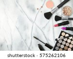cosmetic beauty products... | Shutterstock . vector #575262106