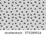 seamless pattern of tropical... | Shutterstock . vector #575289016