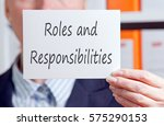 Roles And Responsibilities  ...