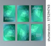 business templates presentation.... | Shutterstock .eps vector #575294743