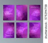 business templates presentation....   Shutterstock .eps vector #575294758