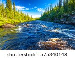 Forest River Flow Landscape