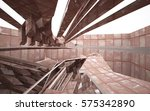 empty abstract room interior of ...   Shutterstock . vector #575342890