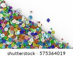 colorful background made from... | Shutterstock . vector #575364019