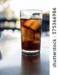 refreshing brown soda   cola... | Shutterstock . vector #575366986