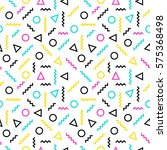 colorful seamless pattern... | Shutterstock .eps vector #575368498