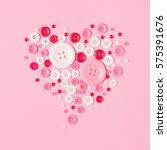 valentine day concept  heart...   Shutterstock . vector #575391676