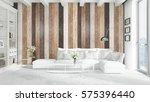 modern bright interior . 3d... | Shutterstock . vector #575396440