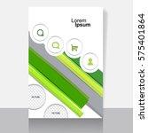 business cover design | Shutterstock .eps vector #575401864