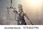 Small photo of Statue of Justice symbol, legal law concept image