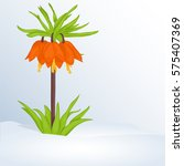 beautiful spring background... | Shutterstock .eps vector #575407369