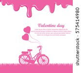 happy valentine's day | Shutterstock .eps vector #575414980