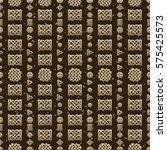 celtic knot seamless pattern | Shutterstock .eps vector #575425573