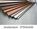 wooden color sample boards for... | Shutterstock . vector #575431630