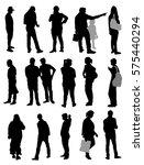 people set   vector | Shutterstock .eps vector #575440294
