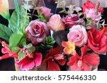 pink flowers | Shutterstock . vector #575446330
