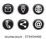 various vector icons of...   Shutterstock .eps vector #575454400