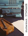 Small photo of Old adding machine