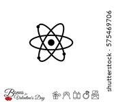 web icon. atom | Shutterstock .eps vector #575469706