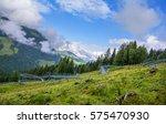 fieberbrunn  austria   august...   Shutterstock . vector #575470930