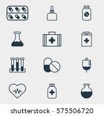 vector illustration of 12... | Shutterstock .eps vector #575506720