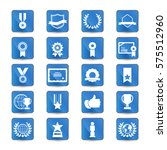 award and honor icon set | Shutterstock .eps vector #575512960