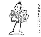 stick figure series emotions  ... | Shutterstock .eps vector #575525368
