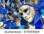 venice carnival masks | Shutterstock . vector #575545069